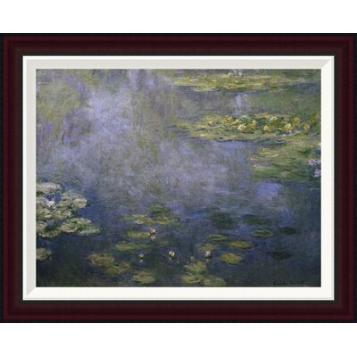 Water Lilies (Nymph�as) IV by Claude Monet Framed Painting Print GCF-278734-22-288
