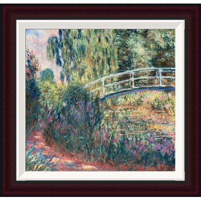 Le Pont Japonais: Bassin aux Nymph�as by Claude Monet Framed Painting Print GCF-278675-16-288