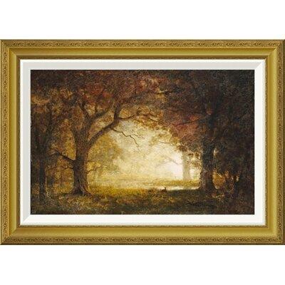 'Forest Sunrise' by Albert Bierstadt Framed Painting Print GCF-267728-22-209