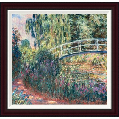 Le Pont Japonais: Bassin aux Nymph�as by Claude Monet Framed Painting Print GCF-278675-22-288
