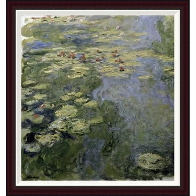 Water Lilies (Nymph�as) II by Claude Monet Framed Painting Print GCF-278732-30-288