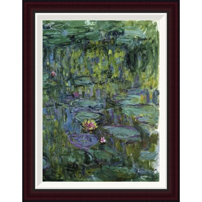 Water Lilies (Nymph�as) XI by Claude Monet Framed Painting Print GCF-278741-22-288