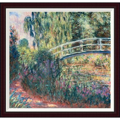 Le Pont Japonais: Bassin aux Nymph�as by Claude Monet Framed Painting Print GCF-278675-30-288