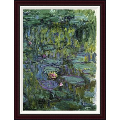 Water Lilies (Nymph�as) XI by Claude Monet Framed Painting Print GCF-278741-30-288