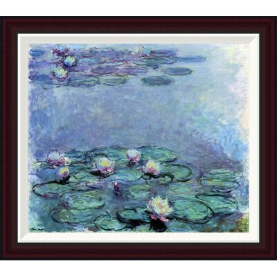Water Lilies (Nymph�as) 1914-1917 by Claude Monet Framed Painting Print GCF-278742-22-288