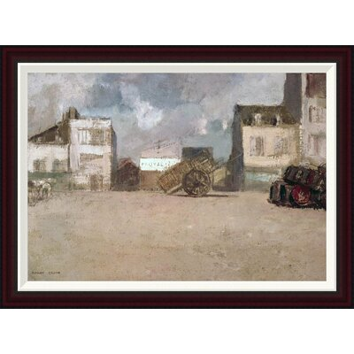 Street Scene by Odilon Redon Framed Painting Print Size: 24.91