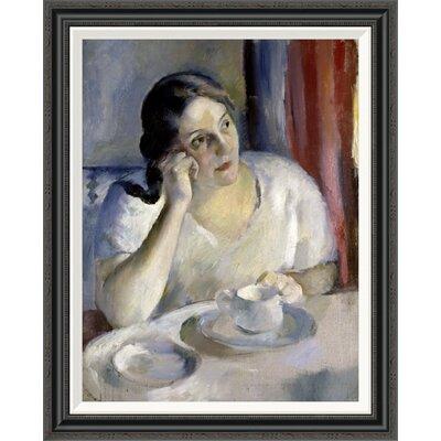 'A Cup of Tea La Tasse de Th' by Henri Ottmann Framed Painting Print GCF-282647-30-194