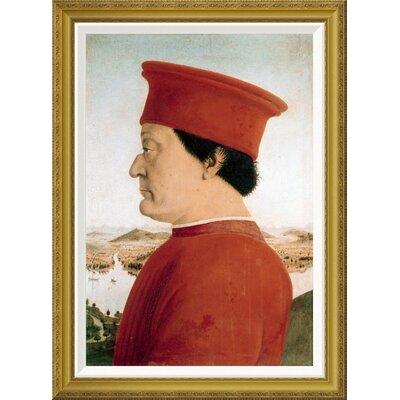 'Duke of Urbino' by Piero della Francesca Framed Painting Print Size: 36