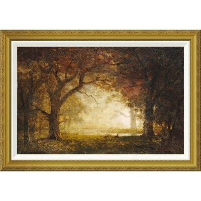 'Forest Sunrise' by Albert Bierstadt Framed Painting Print GCF-267728-30-209