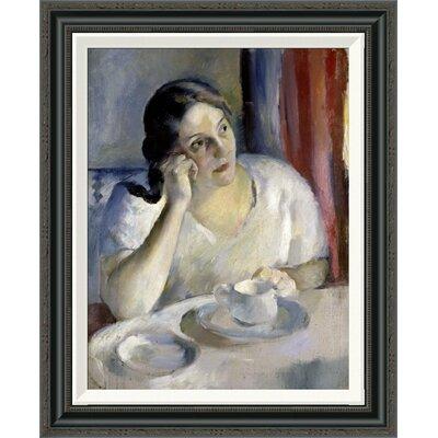 'A Cup of Tea La Tasse de Th' by Henri Ottmann Framed Painting Print GCF-282647-22-194