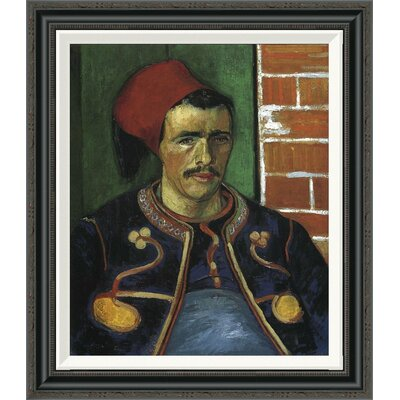 'The Zouave' by Vincent Van Gogh Framed Painting Print GCF-374571-22-194