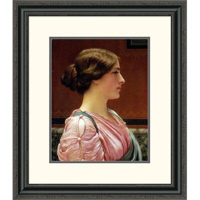 'Cleonice' by John William Godward Framed Painting Print Size: 26
