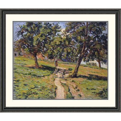 'Pathe at Damiette' by Armand Guillaumin Framed Painting Print Size: 39.48