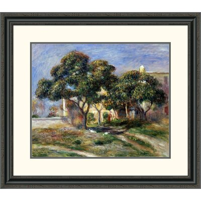 'The Medlar Trees' by Pierre-Auguste Renoir Framed Painting Print Size: 28.15