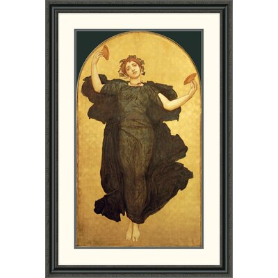 'The Dance of the Cymbalists' by Lord Frederick Leighton Framed Painting Print Size: 46