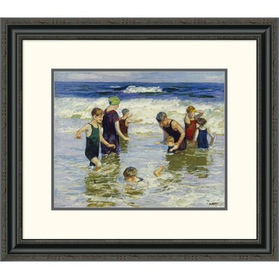 'The Bathers' by Edward Henry Potthast Framed Painting Print DPF-268400-16-153