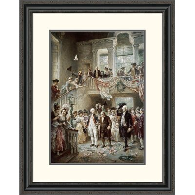 'Constitutional Convention' by Jean Leon Gerome Ferris Framed Painting Print Size: 32