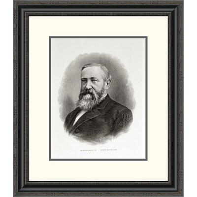 'Benjamin Harrison' Framed Painting Print DPF-280689-16-153