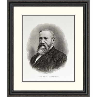 'Benjamin Harrison' Framed Painting Print DPF-280689-22-153