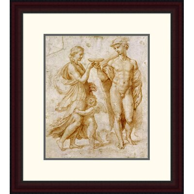 'Mercury Offering the Cup of Immortality to Psyche' by Raphael Framed Painting Print DPF-265383-16-289