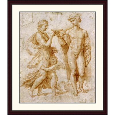 'Mercury Offering the Cup of Immortality to Psyche' by Raphael Framed Painting Print DPF-265383-36-289