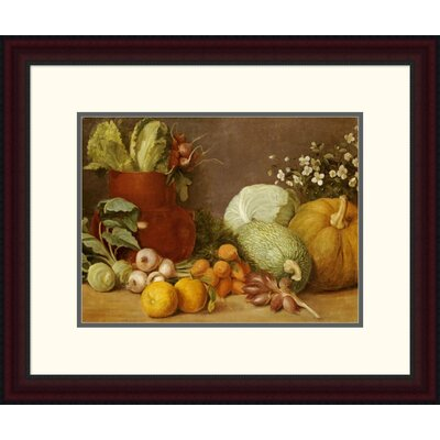 'Bodegon' by Felipe Gutierrez Framed Painting Print Size: 19.92