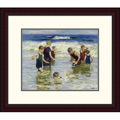 'The Bathers' by Edward Henry Potthast Framed Painting Print DPF-268400-16-289