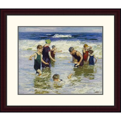 'The Bathers' by Edward Henry Potthast Framed Painting Print DPF-268400-22-289