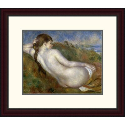 'Reclining Nude' by Pierre-Auguste Renoir Framed Painting Print DPF-279671-16-289