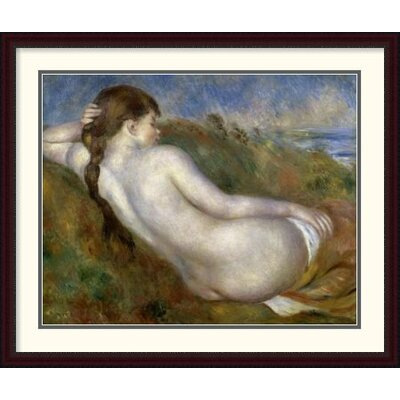 'Reclining Nude' by Pierre-Auguste Renoir Framed Painting Print DPF-279671-36-289