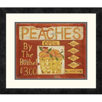 'Fruit Stand II' by Grace Pullen Framed Vintage Advertisement DPF-129246-1114-119