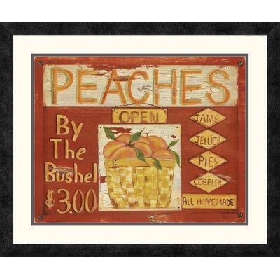 'Fruit Stand II' by Grace Pullen Framed Vintage Advertisement DPF-129246-1620-119