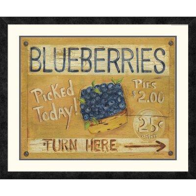 'Fruit Stand I' by Grace Pullen Framed Vintage Advertisement DPF-129245-2024-119