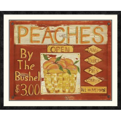'Fruit Stand II' by Grace Pullen Framed Vintage Advertisement DPF-129246-2228-119