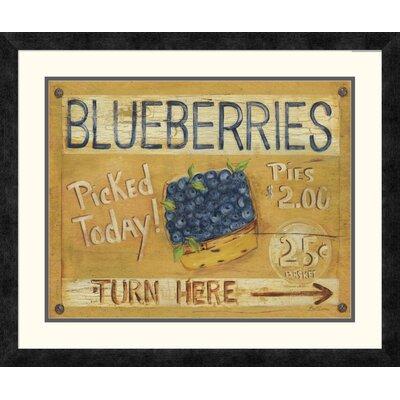 'Fruit Stand I' by Grace Pullen Framed Vintage Advertisement DPF-129245-1620-119
