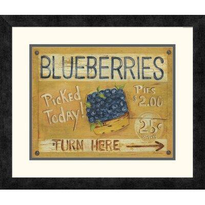 'Fruit Stand I' by Grace Pullen Framed Vintage Advertisement DPF-129245-1114-119