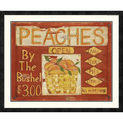 'Fruit Stand II' by Grace Pullen Framed Vintage Advertisement DPF-129246-2835-119