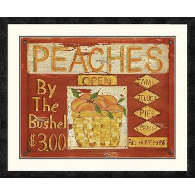 'Fruit Stand II' by Grace Pullen Framed Vintage Advertisement DPF-129246-2024-119