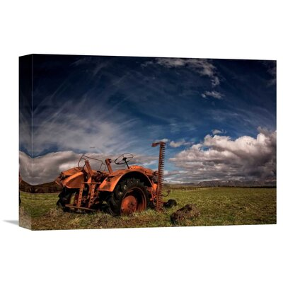 'Tractor' by Thorsteinn H. Ingibergsson Photographic Print on Wrapped Canvas GCS-462140-16-142
