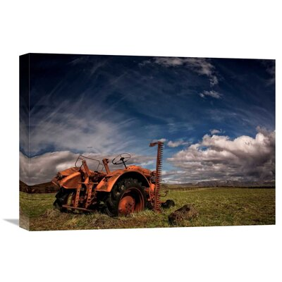 'Tractor' by Thorsteinn H. Ingibergsson Photographic Print on Wrapped Canvas GCS-462140-22-142