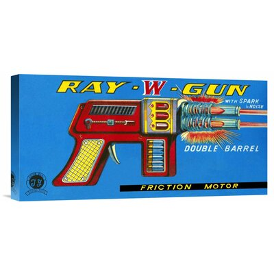 'Ray W Gun' by Retrogun Vintage Advertisement on Wrapped Canvas GCS-375917-22