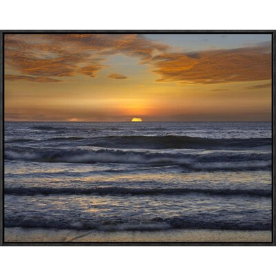 Sunset, Playa Langosta, Guanacaste, Costa Rica by Tim Fitzharris Framed Photographic Print on Canvas GCF-396228-1824-175