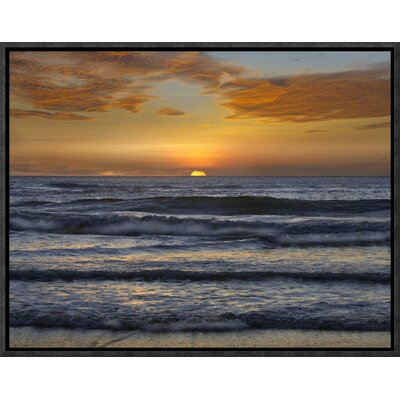 Sunset, Playa Langosta, Guanacaste, Costa Rica by Tim Fitzharris Framed Photographic Print on Canvas GCF-396228-1216-175