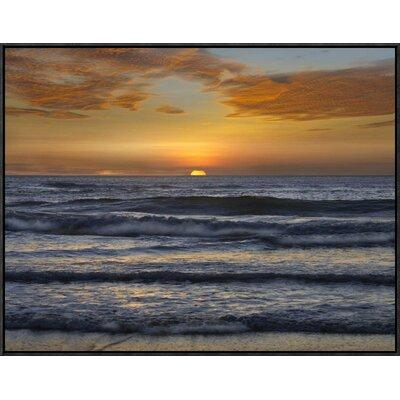 Sunset, Playa Langosta, Guanacaste, Costa Rica by Tim Fitzharris Framed Photographic Print on Canvas GCF-396228-2432-175