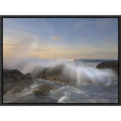 Wave Breaking, Playa Langosta, Guanacaste, Costa Rica by Tim Fitzharris Framed Photographic Print on Canvas GCF-396392-1216-175