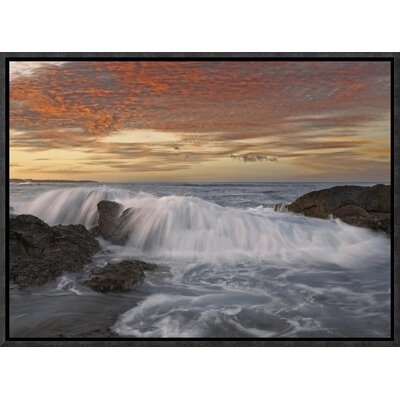 Breaking Wave, Playa Langosta, Guanacaste, Costa Rica by Tim Fitzharris Framed Photographic Print on Canvas GCF-452183-1216-175