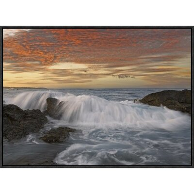 Breaking Wave, Playa Langosta, Guanacaste, Costa Rica by Tim Fitzharris Framed Photographic Print on Canvas GCF-452183-1824-175