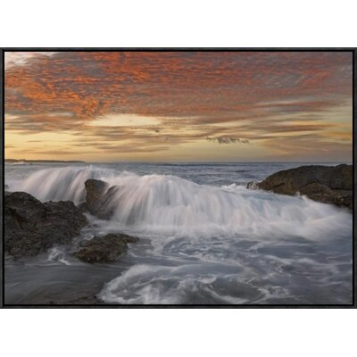 Breaking Wave, Playa Langosta, Guanacaste, Costa Rica by Tim Fitzharris Framed Photographic Print on Canvas GCF-452183-2432-175