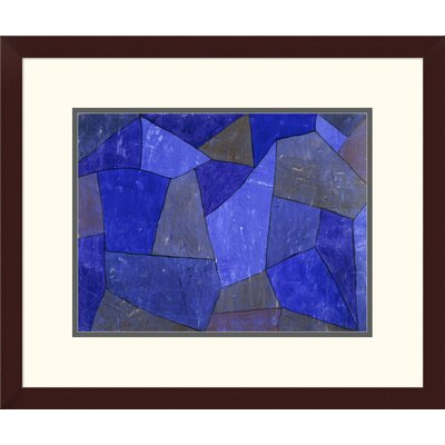 'Rocks at Night' by Paul Klee Framed Graphic Art DPF-463766-1216-180