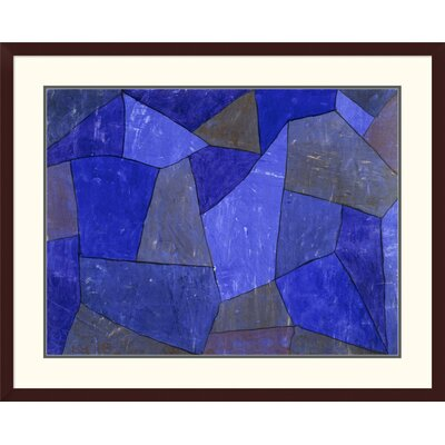 'Rocks at Night' by Paul Klee Framed Graphic Art DPF-463766-2432-180